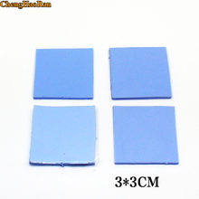 ChengHaoRan 3x3 6models Thermal silica film thermal paste pads affixed to the laptop CPU solid state grease pads thermal pad(China)