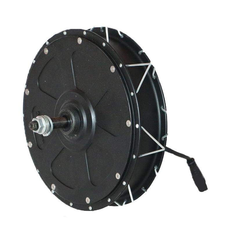 Powerful High Speed 48V 1000W Gearless Non-gear Hub Motor Fat 4.0 Tire 55km/h 500W Brushless Rear Front Electric Bike Motor Kit