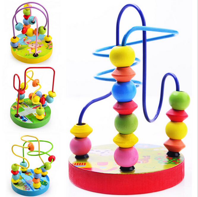 Hot Mini Assemblage Orbit The Maze For montessori Educational Toys   Wooden Toys Building Blocks juguetes educativos baby toys hot for the holidays