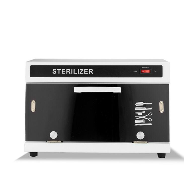 Thermostatic Nail UV Sterilizer, 9W Ultraviolet Sterilizer for Nail Hair Salon Household Disinfection