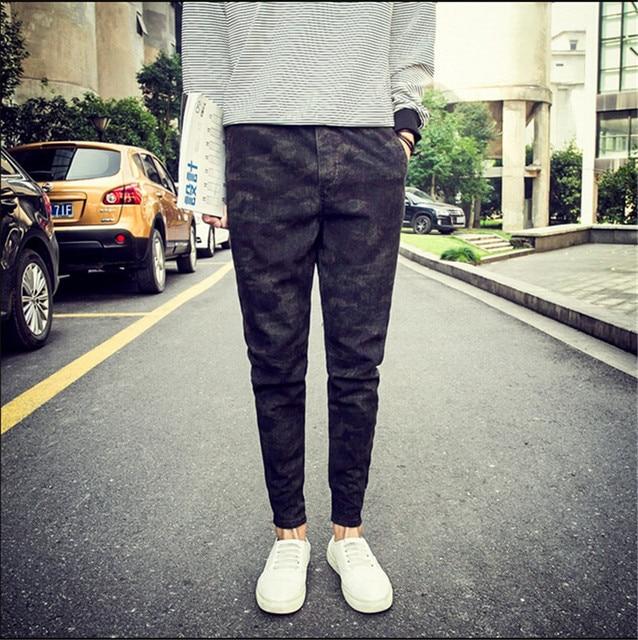New Camouflage Pants 2015 Mens Joggers Pants Men Casual Hip Hop Harem Dance Jogger Baggy Trousers M-4XL