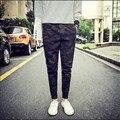 Novas calças de camuflagem 2015 calças dos homens corredores homens casuais hip hop harem dança baggy jogger calças m-4xl