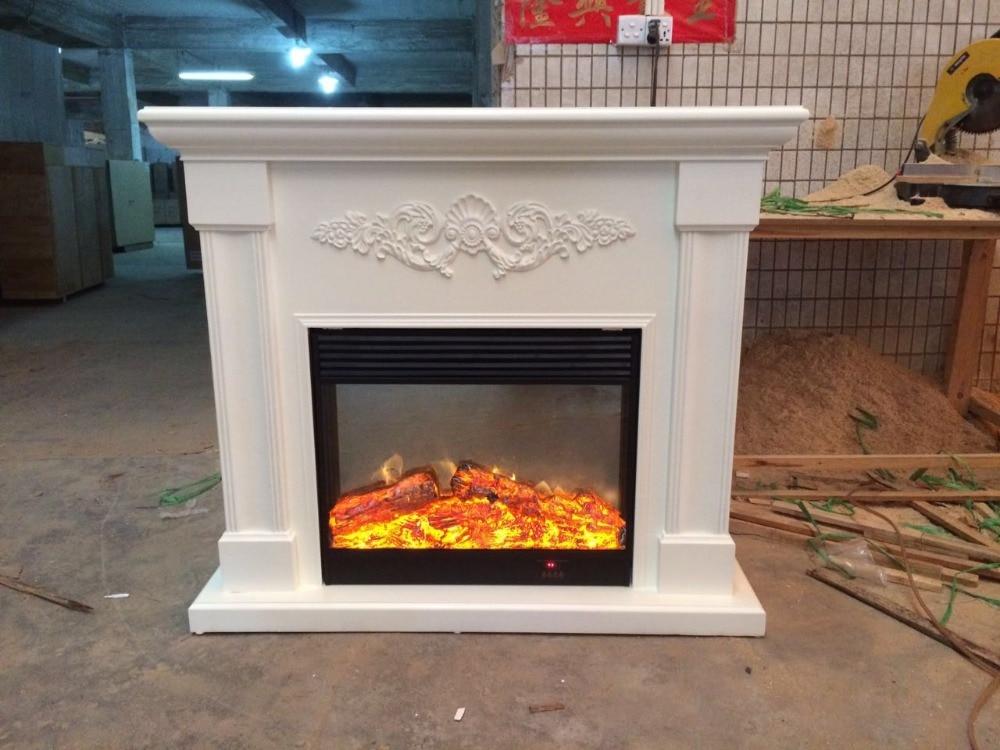 indoor freestanding fireplace mantel hearth