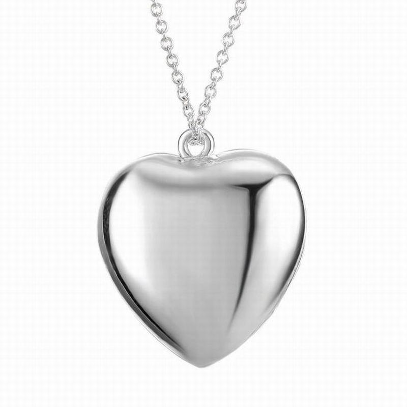 Glowing Heart Pendant - back