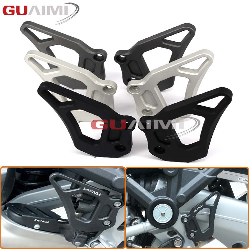 For BMW R1200GS LC Adventure 2013 2014 2015 2016 R1200 GS Motorcycle CNC Foot Rest Foot Pegs Heel Plates Guard Protector