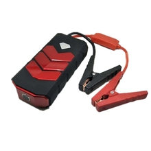 Mobile Power High Capacity 20000Mah Boot Device Jumper Portable 12V Car Charger Battery Booster Red Plastic Us Plug