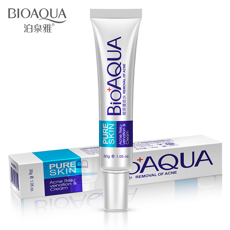 BIOAQUA ACNE Cream  30g Treatment Remove Anti Acne Facial Cream Shrink Pores Oil Control Moisturizing Men/Women Face Skin Care