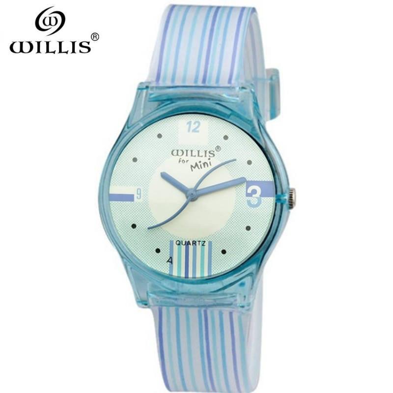 WILLIS Brand Luxury Quartz Watches Silicone strap Women Clock female Ladies Dress W30M waterproof watch Gift 2017 relojes mujer