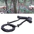Emergência doméstica jardinagem mão motosserra com 48cm sobrevivência ao ar livre bolso corrente serra de mão acampamento caminhadas caça emergência