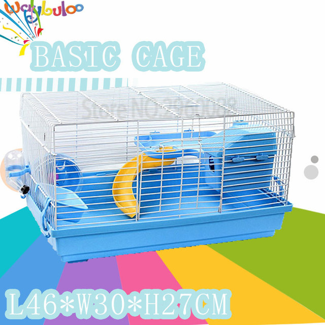 Hot Products Free delivery PP material travel oversized hamster cage multicolor  pet Supplies gaiola guinea pig cage