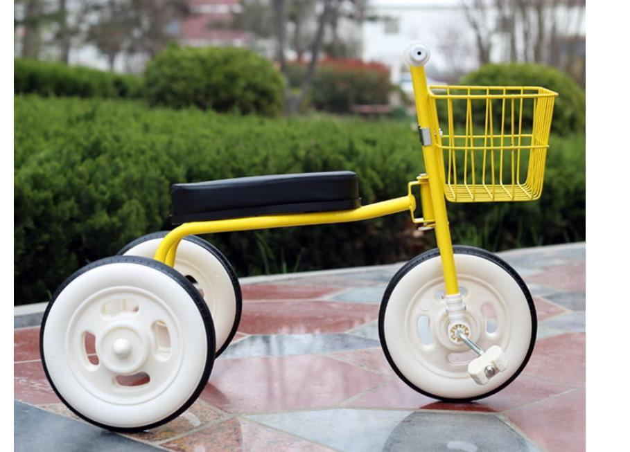 Simplee tricycle enfant avec guidon arrière réglable, pratique bébé vélo enfant marcheur avec cadre en acier l enfants marcheur voiture - 5