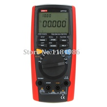 UNI-T UT71C LCD Intelligent Digital MultiMeters True RMS Volt Ampere Ohm Capacitance Temp Meter Multimetro Ammeter Multitester цена 2017