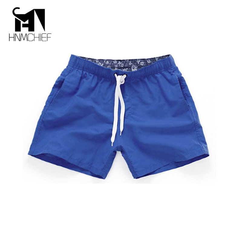 Men's Beach Shorts 2017 New Summer Casual Quick Drying Short Men Fashion Style Breathable Mens Beach Holiday Swimwear Shorts