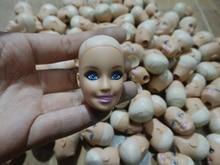 2016new 10pcs lot Original Head for Barbie Dolls Free Shipping Doll s Head DIY Accessories doll