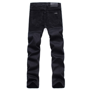 Image 5 - Mannen Klassieke Zwarte Jeans Elastische Slim Fit Denim Jean Broek Mannelijke Plus Size 40 42 44 46 Business Casual broek Merk