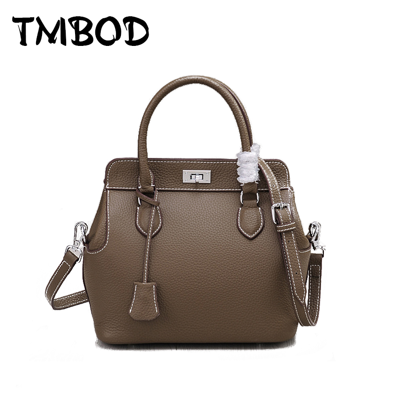 New 2019 2 size Designer Classic Small Tote Popular Women Genuine Leather Handbags Ladies Bag Messenger