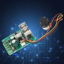 DC 6-60 V 30A PWM DC Motor Speed Control Switch Controller Volt Regler Dimmer Digital Display Tachometer(China)