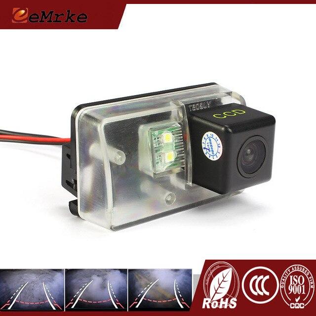 eeMrke CCD HD Rear Camera For Citroen C3 C4 Picasso intelligent Dynamic Guidance Trajectory Tracks Car Camera