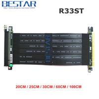 Riser PCI Express PCI-E 16x pcie 3,0x16 Riser Grafiken karte Kabel 20 cm-1 mt Für GTX1080TI firepro w7100, quadro K1200 VEGA64