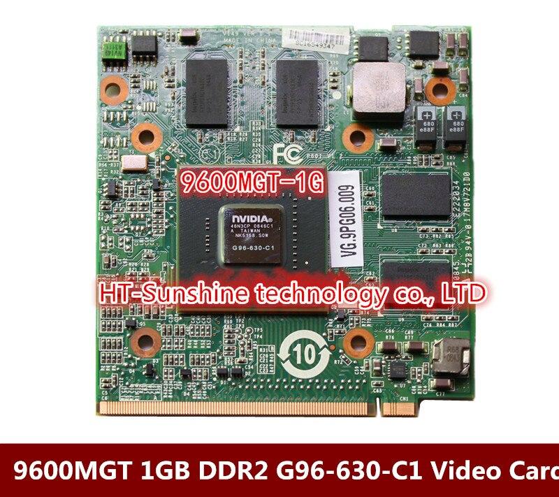 Acer 4930 5930 6935 4925 4730 6930 7730 8730 8930 9600M GT 9600MGT 1GB DDR2 MXM