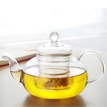 Hohe Qaulity Hitzebeständigem Glas Teekanne Mit Infuser Kaffee Tee Blatt Pflanzliche Home Office Drink 350 ML/600 ML/800ML1000ML