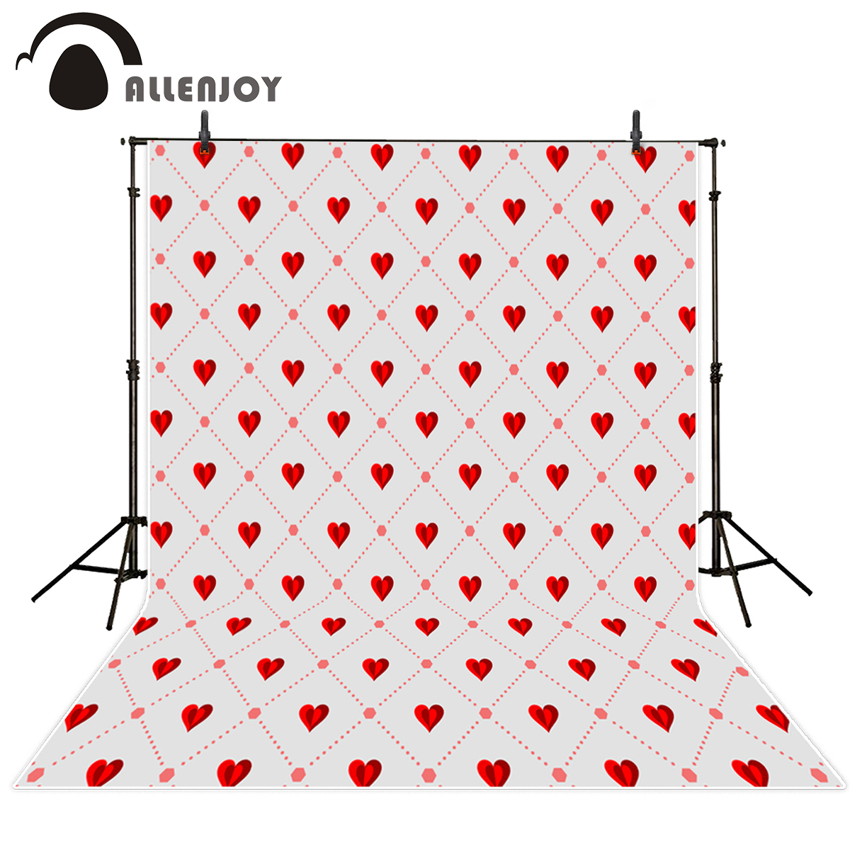 Allenjoy photography backdrops Valentine's Day love line wedding romantic photo background vinyl photography vinyl backdrops allenjoy photography backdrops love pink romantic background photography wedding backdrop for valentine s day