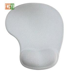 Image 1 - Katı renk mouse pad bileklik yaratıcı bellek silikon ofis el yastık mouse el desteği 3d bilek pad mouse pad küçük simp