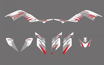 Grafika naklejka naklejka motocykl dla Yamaha Raptor 700 ATV 2006 2007 2008 2009 2010 2011 2012 nowy styl zespół grafiki zestawy tanie i dobre opinie NICECNC CN (pochodzenie) Naklejki i naklejki Graphics Decal Sticker Motorcycle 0 83 FOR RAPTOR 700 ATV 2006-2012