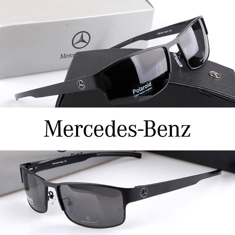 acf80b091bf Mercedes-Benz Polarized Men Sunglasses Sports Coating Mirror Driving Sun  Glasses oculos Male Eyewear Accessories ...