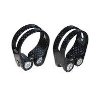 SuperLight 14g Vollcarbon Fahrrad Sattleklemme 34 9mm & 31 8mm MTB Rennrad Sattelstütze Klemmen Für 31 6/27 2mm Sattelstütze teile-in Sattelklemmen aus Sport und Unterhaltung bei