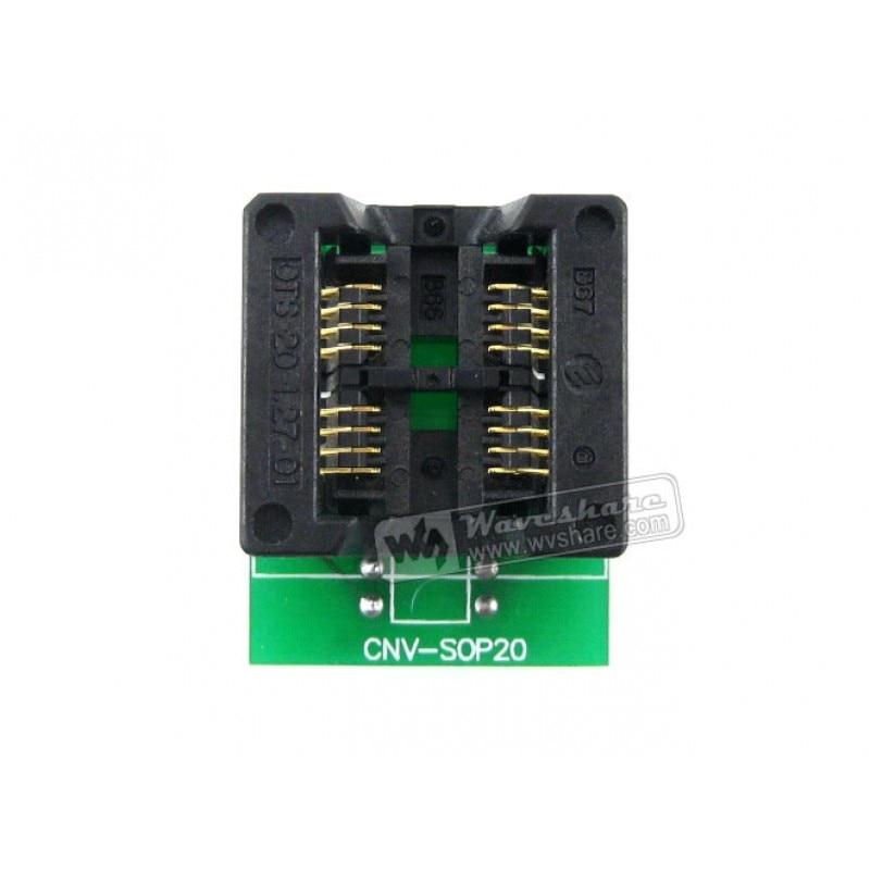 2-Units so8 sop8 إلى dip8 soic8 enplas ic البرمجة محول اختبار حرق في المقبس 5.4 ملليمتر العرض 1.27 ملليمتر الملعب