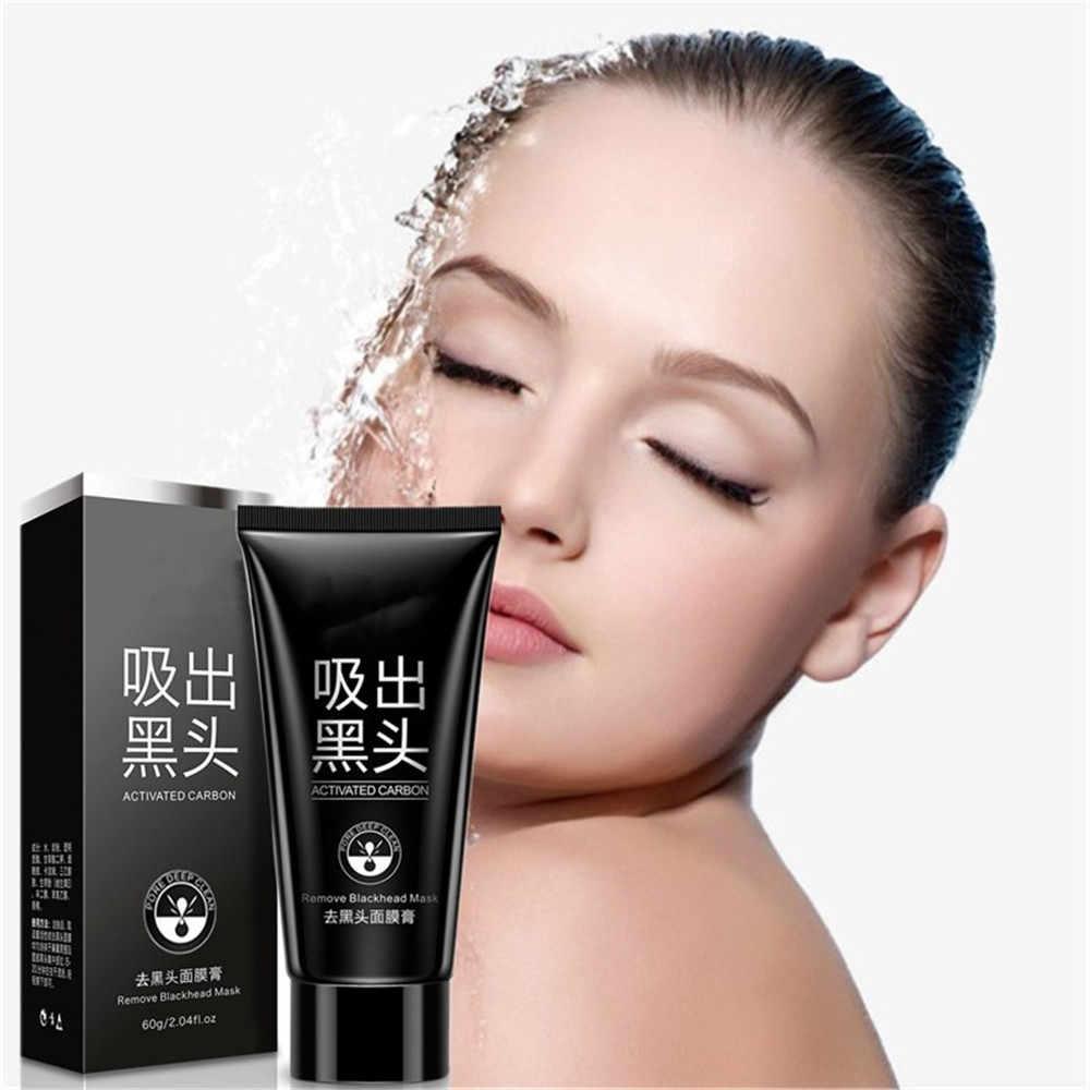 Бамбуковый Уголь черная маска для лечения акне для ухода за лицом угольная Маска Для Носа Маска Тушь для ресниц