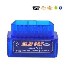 Promotion Super MINI ELM327 V2.1 Bluetooth OBD2 Code Reader OBDII Auto Diagnostic Scanner Tool Free Shipping