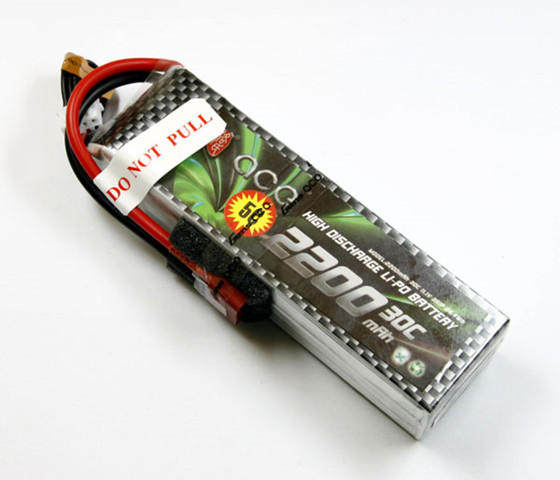 Gens ACE 11.1V 2200mAh 30C Discharge Lipo battery Free Track Shipping spade ace 1 35 35011a metal track soviet 2s7