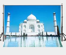 7x5ft Photography Backdrop Romantic Indian Architecture Background Taj Mahal Studio