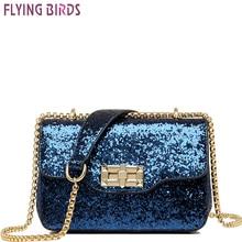 Flying birds famous brands women mini bags messenger bags in shoulder bag Sequins bag party banquet cross-body handbag A1151fb