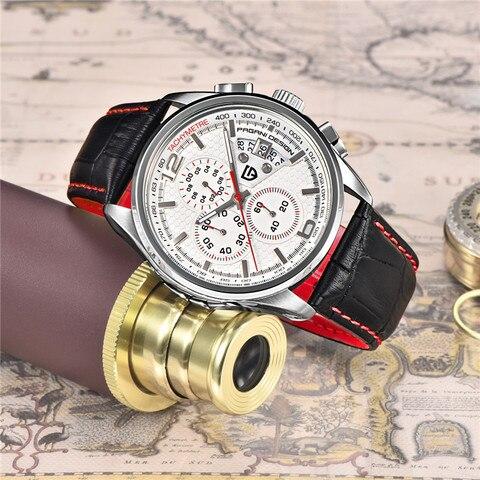 Men Quartz Watches PAGANI DESIGN Luxury Brands Fashion Timed Movement Military Watches Leather Quartz Watches relogio masculino Multan