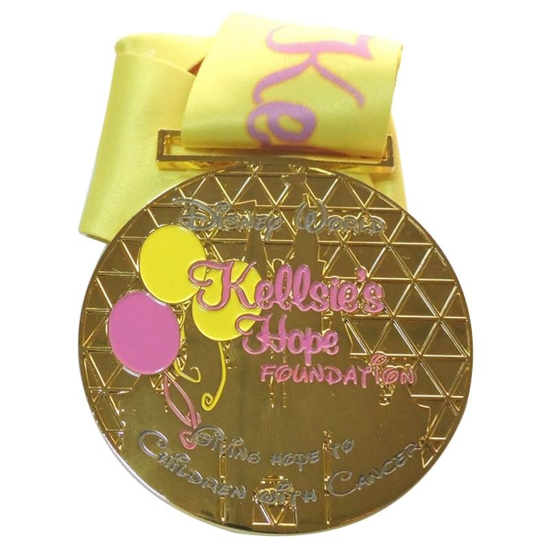 Brass-Material-Gold-Amusement-Parks-Souvenir-Medal