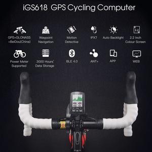 Image 5 - Igpsportサイクリングワイヤレスコンピュータant + 自転車スピードメーターIGS618バイク心拍数速度ケイデンスセンサーコンピュータアクセサリー