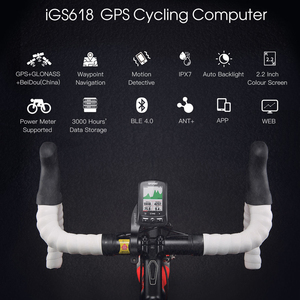 Image 5 - iGPSPORT Cycling Wireless Computer ANT+ Bicycle Speedometer IGS618 Bike Heart Rate Speed Cadence Sensor Computer Accessories