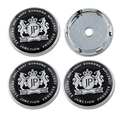 4pcs 60mm JP black car emblem wheel center hub cap wheel decoration covers P W187 JUNCTION PRODUCE VIP accessories Freeshipping