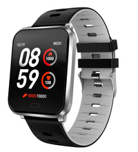 GIAUSA Smart Watch Sport IP68 Waterproof Heart Rate Blood Pressure Smart Bracelet Activity Fitness Tracker Watch For IOS Android colmi smart watch oled screen heart rate blood oxygen pressure brim ip68 waterproof activity tracker for android and ios phone