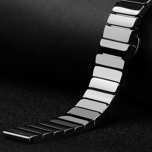 Image 2 - Dla huawei GT zegarek ceramiczny pasek SIKAI 22mm pasek dla honor magia ticwatch pro