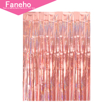 2M Rainbow backdrop Foil Curtains Photography Background Supplies Birthday Party decoration adult christmas decorations for home christmas photography background decorations for home party christmas photoshoot background children photo background xt 5045