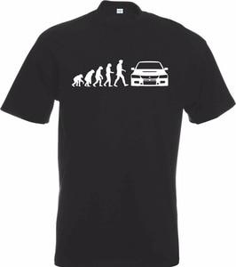 Nouveau site web 2019 de conception de chemise chaude de mode évolution de Mitsu inspiré Evo évolution impression de t-shirt de voiture