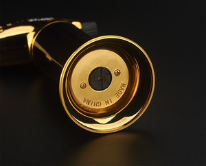 Image 5 - Outdoor BBQ Lighter Cigar Torch Turbo Lighter Jet Butane Gas 1300 C Spray Gun Windproof Metal Pipe Lighter Kitchen No Gas