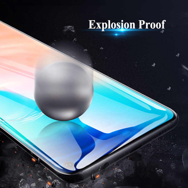 9D Full Cover Tempered Glass for Samsung A50 A70 A90 A10 Protective Screen Protector Film for Galaxy A80 A40 A30 A20 A2 Core