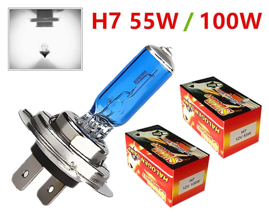 Super White Halogen Bulb H1 H3 H4 H7 H8 H11 9005 HB3 9006 HB4 880 881 12V 24V 27W / 35W / 55W 70W 100W 5000K  Car Headlight Lamp