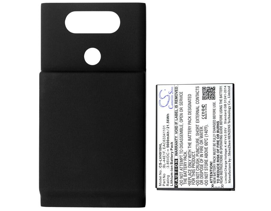 Cameron Sino 5600mAh Battery BL-44E1F, EAC63341101 for LG H910, H918, H990, LS997, V20, VS995
