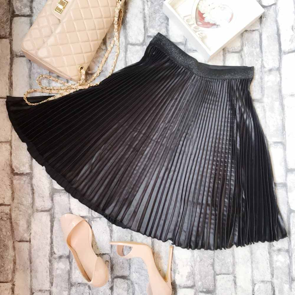 dd6c54981 High Waisted Skirts Midi   Saddha